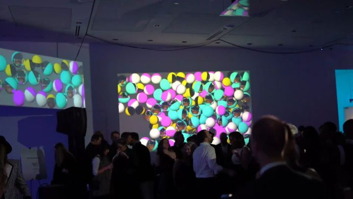 Projection Mapping, Event Visuals, Pacemour Creative, Columbus, Ohio